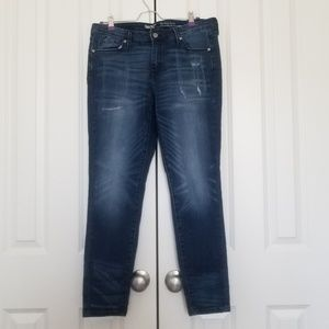Mossimo Denim Mid-Rise Skinny Jeans